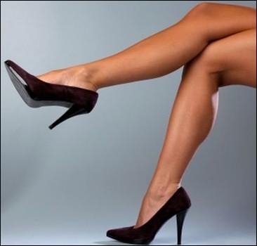 Сексуальные ноги на каблуках