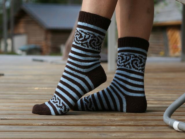 Вязание носки жаккард схема фото 759