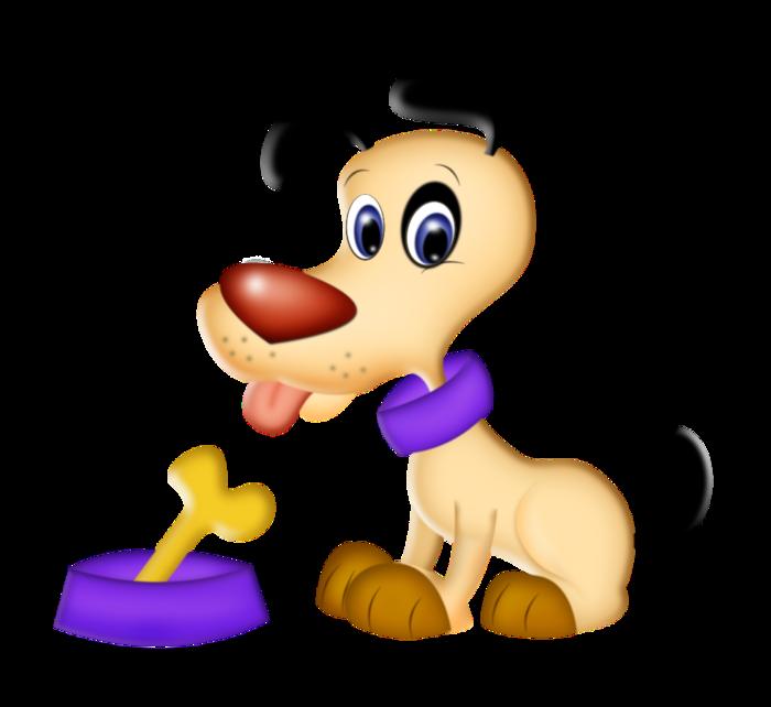 Картинки собака с косточкой для детей