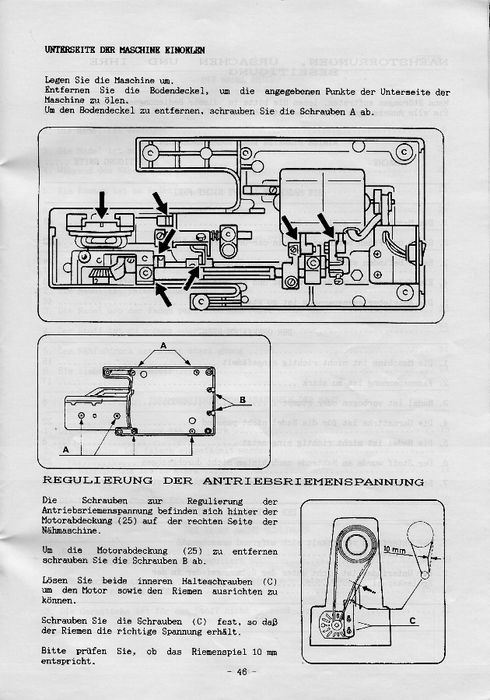 necchi 559 инструкция на русском