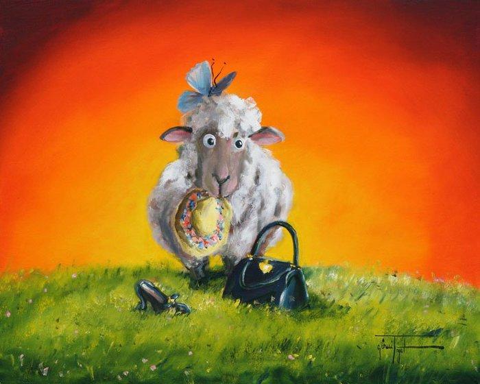 Про знаки, прикольные картинки с овечками