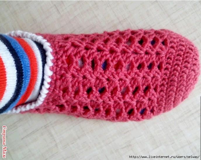 носкитапочкипинетки крючком записи в рубрике носкитапочки