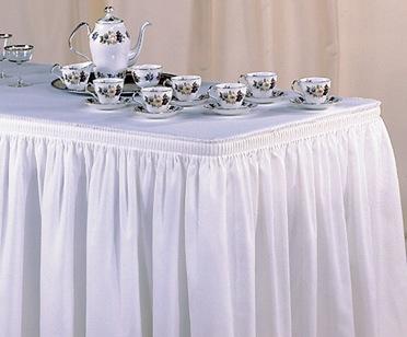 Свадебные юбки на стол своими руками 62