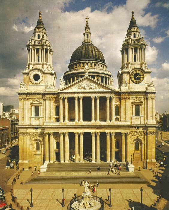 Wren_St_Paul's_Cathedral (564x700, 403Kb)