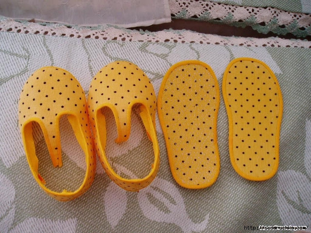 Щьем обувь дома мастер класс поделка #10