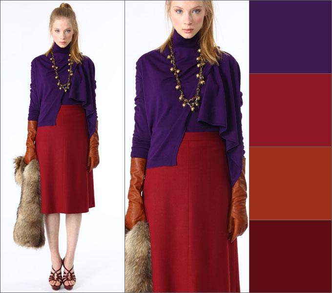 ee16b6ff5eaa1 Таблицы сочетание цветов в одежде . Обсуждение на LiveInternet ...