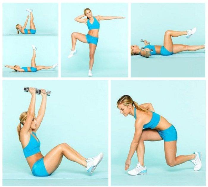 Похудеть С Помощью Упражнений Картинки. Упражнения для быстрого похудения в домашних условиях