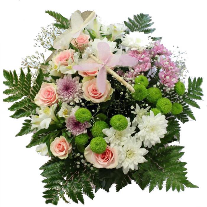 Как собрать простые букеты из живых цветов для начинающих, доставкой