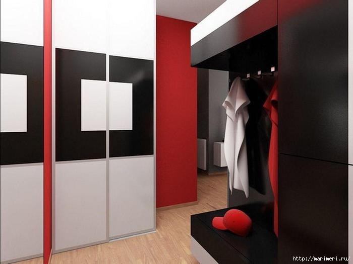 интерьер прихожей в квартире Прихожие фото дизайн интерьер коридора Фотогалерея