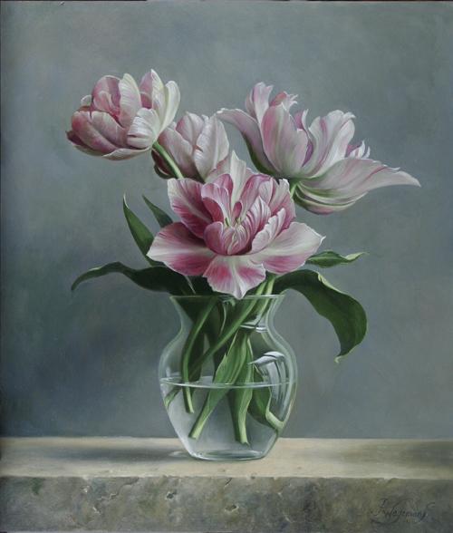 цветочные натюрморты Pieter Wagemans 5 (500x588, 261Kb)