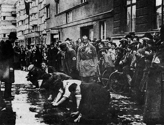 the german treatment and attitude towards the jewish people during the holocaust The us and the holocaust project group: a prevalent attitude during the holocaust, antisemitism was a factor that limited american jewish action during.