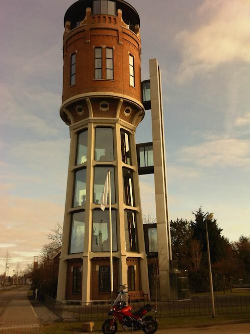 Водонапорная башня жилая