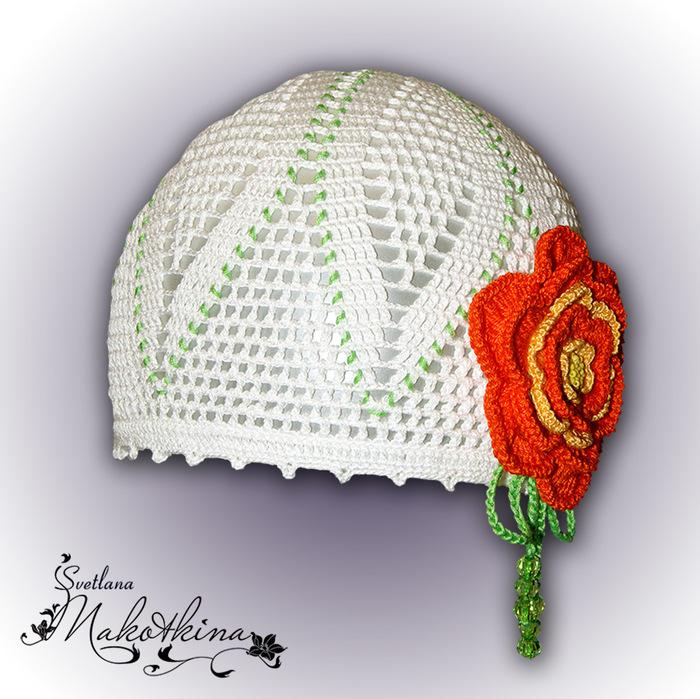 Картинки вязаные крючком летние шапки, любви