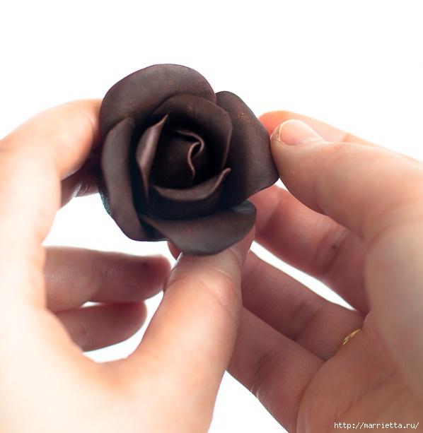 Шоколадная мастика мастер класс как сделать #11