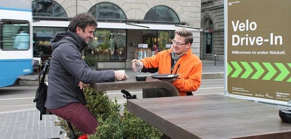 Жизнь на колесах. Велокафе в Цюрихе