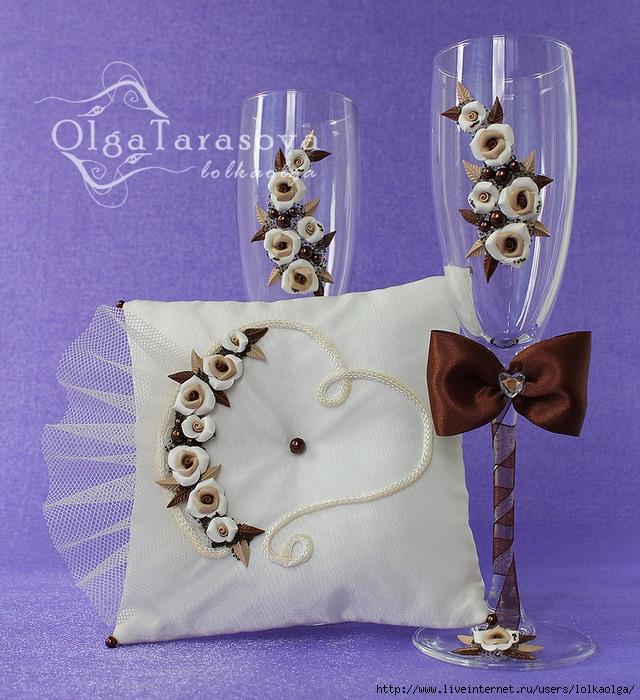 Шоколадный свадебный набор