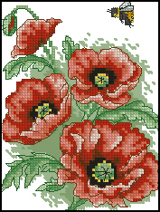 Anchor-AD167_2-Poppy_and_Bee (177x234, 67Kb)