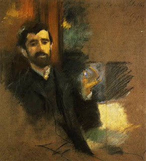 sargent pastel portrait of Paul Helleu (291x320, 29Kb)
