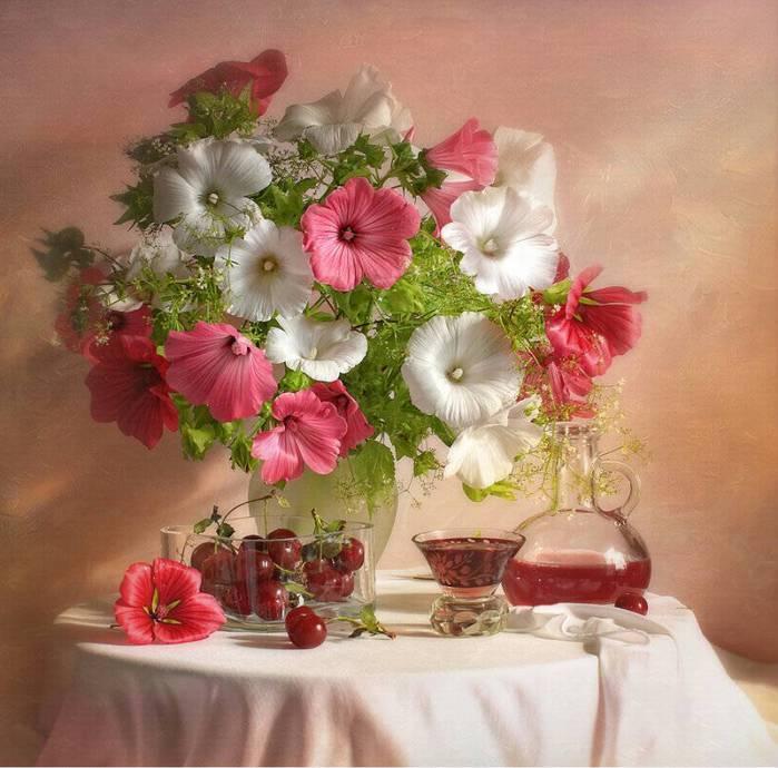 Натюрморты цветочно - фруктовые fbf049d8e235e0fbf9f1dfa208fda760bc81cc84517270 (700x690, 63Kb)