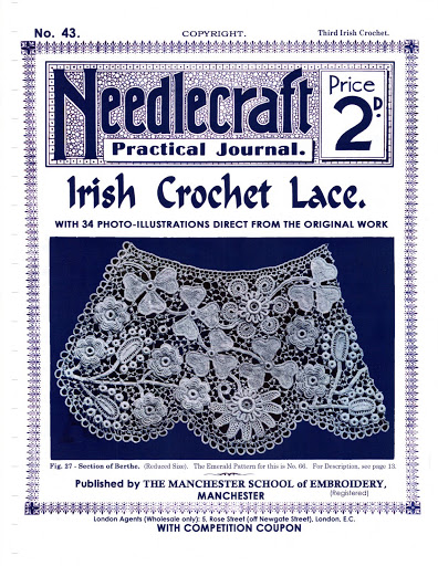 No43NeedlecraftJournalIrishCrochetLace (396x512, 117Kb)