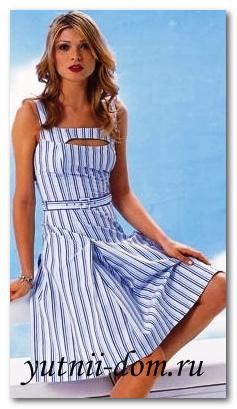 7836469e99d90f4 Выкройка летнего платья ...