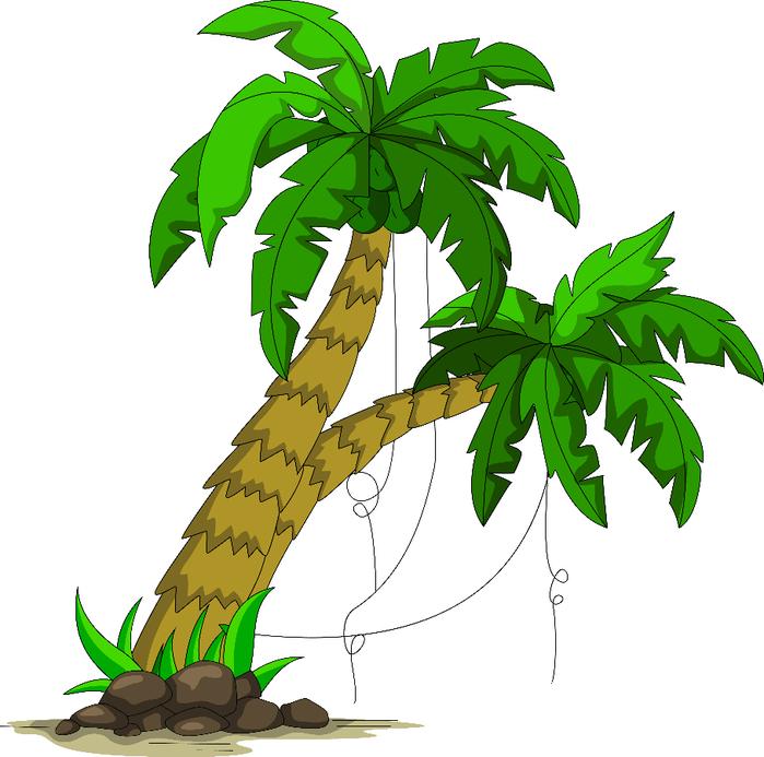 пальма для детей картинки