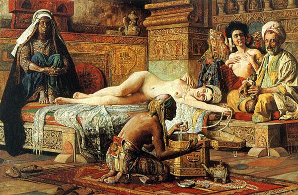 Сексуальные связи евнухов и женщин