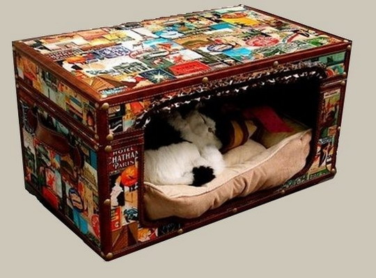 recycled-suitcase-ideas-pets-bed9 (540x400, 65Kb)