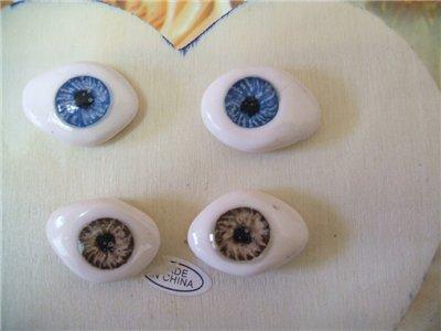 Глаза для куклы своими руками 44