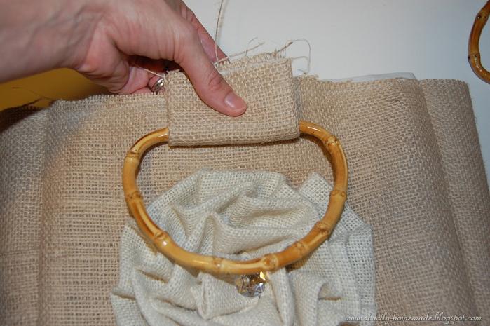 d8dd8ff049be Шьем летнюю сумку из мешковины. Обсуждение на LiveInternet ...