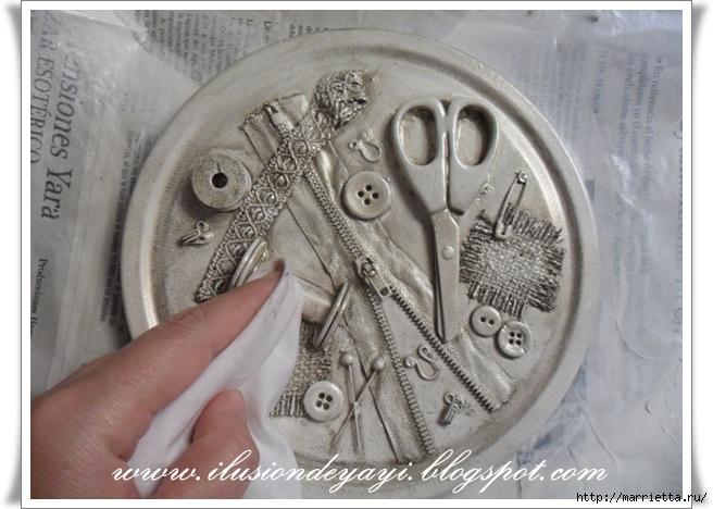 Шкатулку для швейных принадлежностей мастер класс пошагово #11