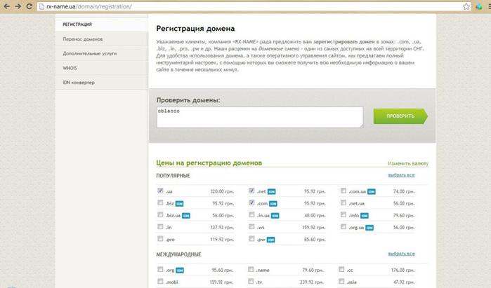 Регистрация домена, Хостинг в Украине