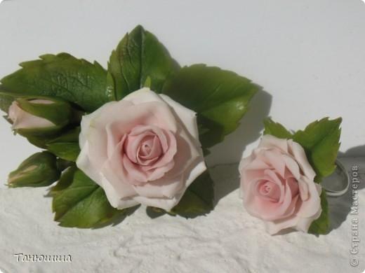 Розы из холодного фарфора и как сделать молды для лепки листьев (18) (520x390, 83Kb)