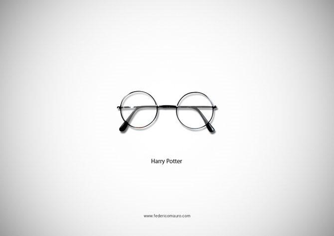 Федерико Маурер. Проект Знаменитые очки (Famous Eyeglasses)