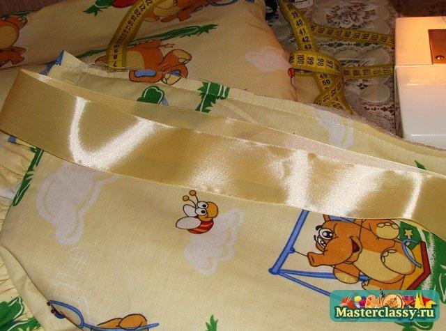 Кармашки для детской кроватки сшить 26