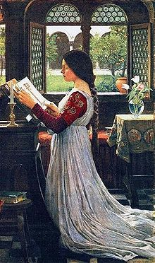 220px-John_William_Waterhouse_-_The_Missal (220x372, 34Kb)