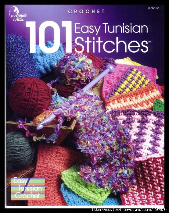 101 EASY TUNISIAN STITCHES pg 0 FC (554x700, 293Kb)
