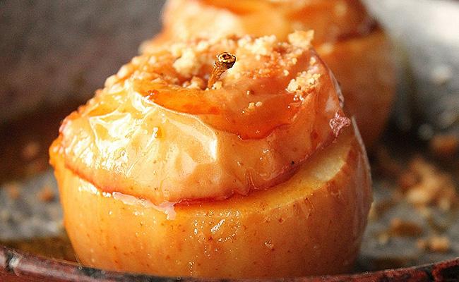 Печеные яблоки при диете 5