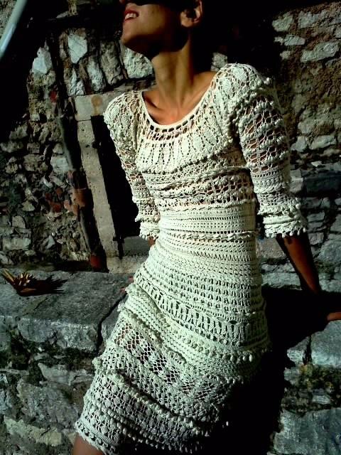 钩针连衣裙(455) - 柳芯飘雪 - 柳芯飘雪的博客