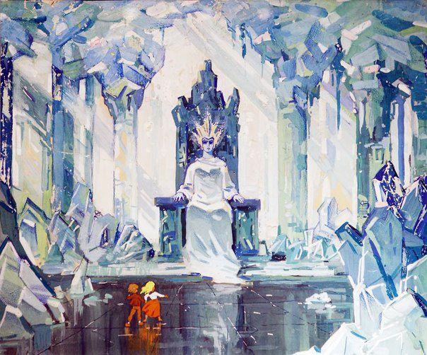 мультфильм, детство снежная королева