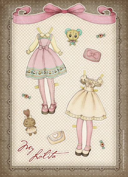 lolita response paper A design sketch for the nascent han lolita subgenre, a response to the hanfu derivation to the lolita fashion genre find this pin and more on anime outfits.