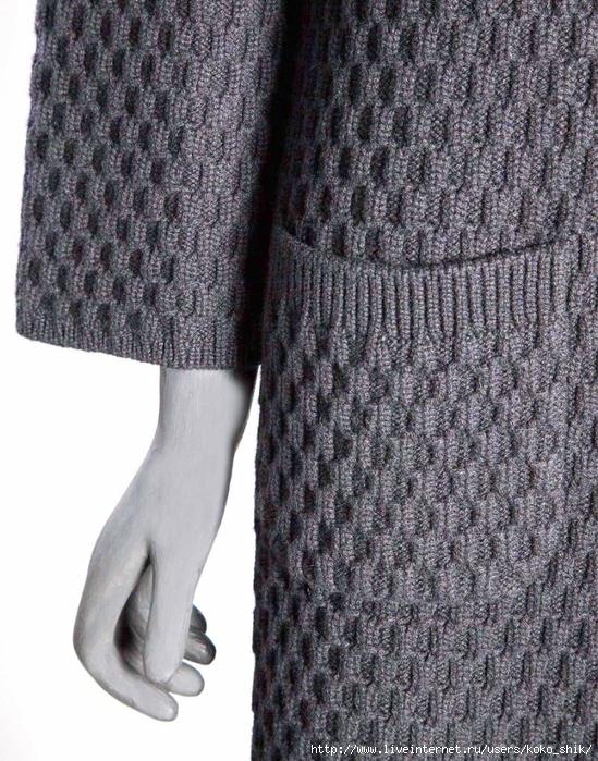 вязание на спицах узоры плотные узор для пальто обсуждение на