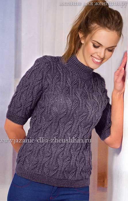 Вязание пуловеры джемпера