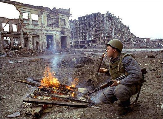 """А это - Чечня. Наведение """"конституционного порядка""""..."""
