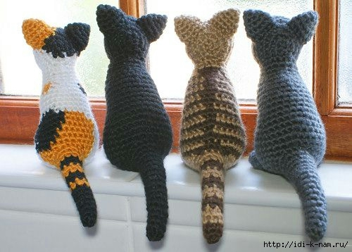 игрушки вязаные кошки записи в рубрике игрушки вязаные кошки
