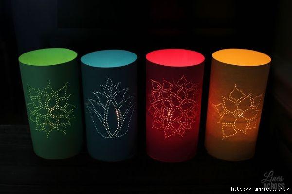 Бумажные фонарики своими руками (3) (600x399, 76Kb)