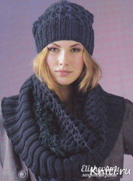 схемы вязания шапок самое интересное в блогах