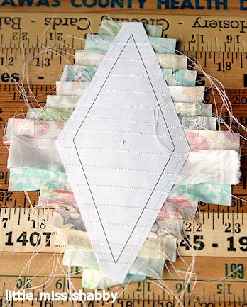 Лоскутный квилт. Блок ЗВЕЗДА (7) (348x433, 185Kb)