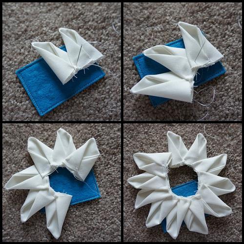 Цветок из ткани для декора подушки (10) (500x500, 300Kb)