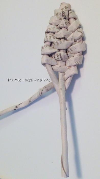 Плетение. Цветы из газетных трубочек (10) (392x700, 196Kb)